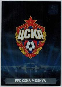 Team Logos, 2013-14 Adrenalyn Champions League, PFC CSKA Moskva