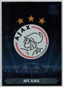 Team Logos, 2013-14 Adrenalyn Champions League, AFC Ajax