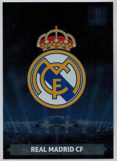 Team Logos, 2013-14 Adrenalyn Champions League, Real Madrid CF