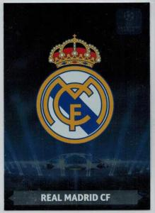 Team Logos, 2013-14 Adrenalyn Champions League, Real Madrid CF