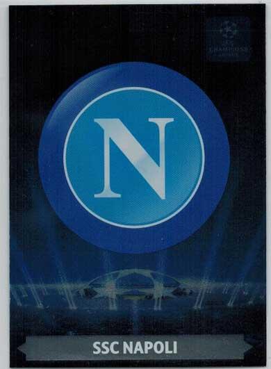 Team Logos, 2013-14 Adrenalyn Champions League, SSC Napoli