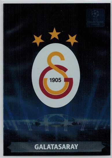 Team Logos, 2013-14 Adrenalyn Champions League, Galatasaray