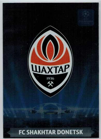 Team Logos, 2013-14 Adrenalyn Champions League, FC Shakhtar Donetsk