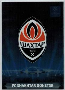 Team Logos, 2013-14 Adrenalyn Champions League, FC Shakhtar Donetsk