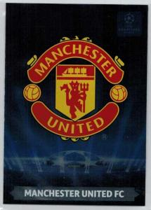 Team Logos, 2013-14 Adrenalyn Champions League, Manchester United