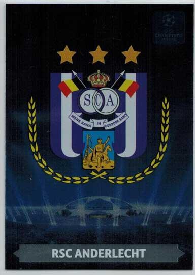 Team Logos, 2013-14 Adrenalyn Champions League, RSC Anderlecht