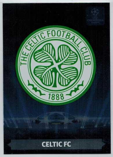 Team Logos, 2013-14 Adrenalyn Champions League, Celtic FC