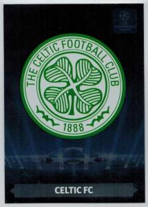 Team Logos, 2013-14 Adrenalyn Champions League, Celtic FC