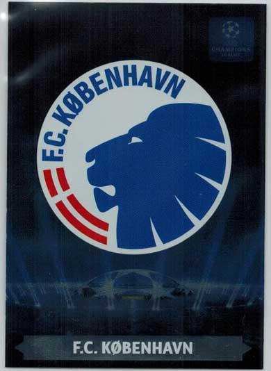 Team Logos, 2013-14 Adrenalyn Champions League, F.C. Kobenhavn