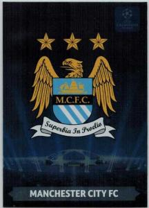 Team Logos, 2013-14 Adrenalyn Champions League, Manchester City FC