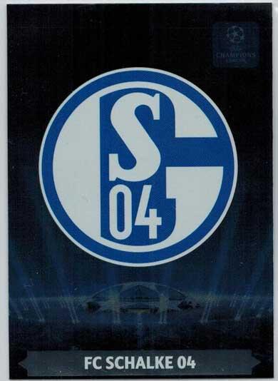 Team Logos, 2013-14 Adrenalyn Champions League, FC Schalke 04