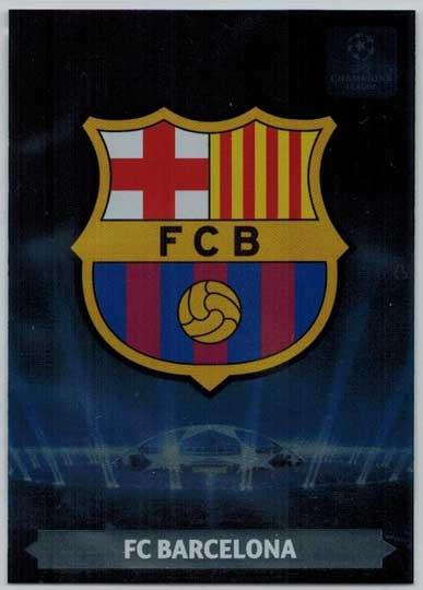 Team Logos, 2013-14 Adrenalyn Champions League, FC Barcelona