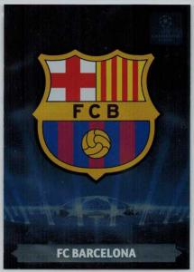 Team Logos, 2013-14 Adrenalyn Champions League, FC Barcelona