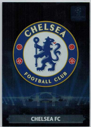 Team Logos, 2013-14 Adrenalyn Champions League, Chelsea FC