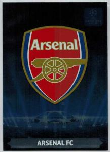 Team Logos, 2013-14 Adrenalyn Champions League, Arsenal FC