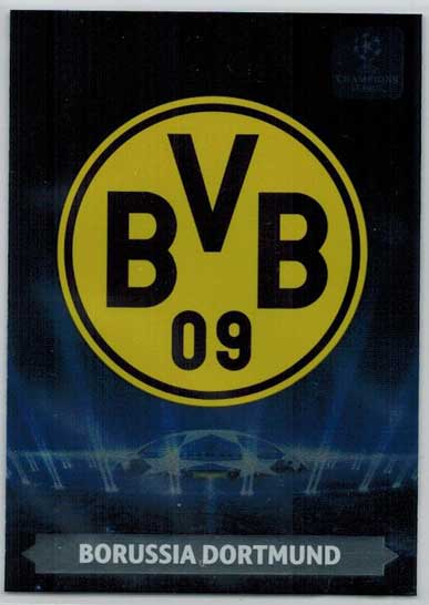 Team Logos, 2013-14 Adrenalyn Champions League, Borussia Dortmund