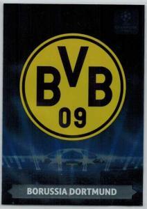 Team Logos, 2013-14 Adrenalyn Champions League, Borussia Dortmund