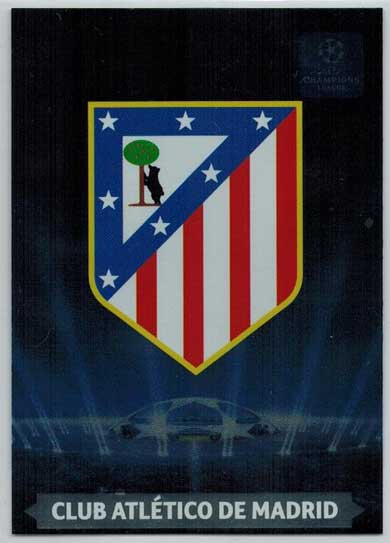 Team Logos, 2013-14 Adrenalyn Champions League, Club Atletico De Madrid