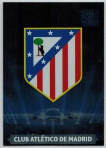 Team Logos, 2013-14 Adrenalyn Champions League, Club Atletico De Madrid