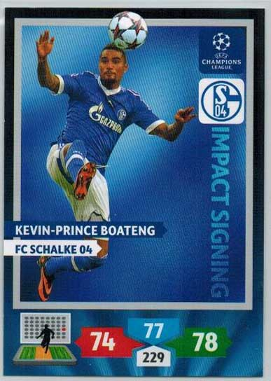 Impacts Signings, 2013-14 Adrenalyn Champions League, Kevin-Prince Boateng