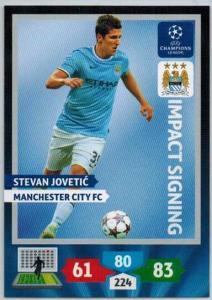 Impacts Signings, 2013-14 Adrenalyn Champions League, Stevan Jovetic