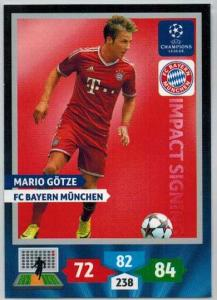 Impacts Signings, 2013-14 Adrenalyn Champions League, Mario Gotze / Mario Götze
