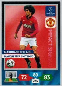 Impacts Signings, 2013-14 Adrenalyn Champions League, Marouane Fellaini