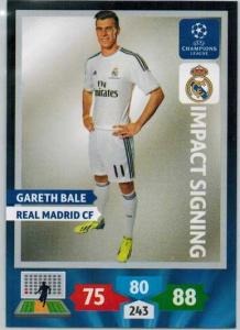 Impacts Signings, 2013-14 Adrenalyn Champions League, Gareth Bale