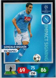 Impacts Signings, 2013-14 Adrenalyn Champions League, Gonzalo Higuain