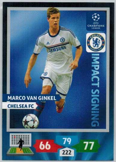 Impacts Signings, 2013-14 Adrenalyn Champions League, Marco Van Ginkel