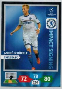 Impacts Signings, 2013-14 Adrenalyn Champions League, Andre Schurrle