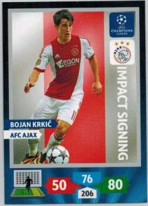 Impacts Signings, 2013-14 Adrenalyn Champions League, Bojan Krkic