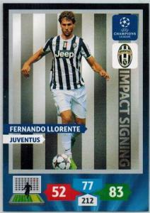 Impacts Signings, 2013-14 Adrenalyn Champions League, Fernando Llorente