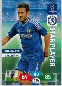 Star Player, 2013-14 Adrenalyn Champions League, Juan Mata