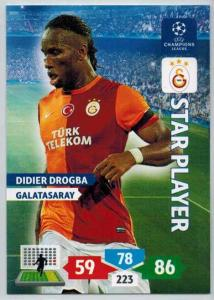 Star Player, 2013-14 Adrenalyn Champions League, Didier Drogba