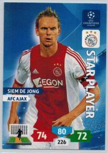 Star Player, 2013-14 Adrenalyn Champions League, Siem De Jong