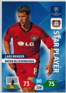 Star Player, 2013-14 Adrenalyn Champions League, Lars Bender