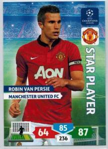 Star Player, 2013-14 Adrenalyn Champions League, Robin Van Persie