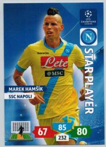 Star Player, 2013-14 Adrenalyn Champions League, Marek Hamsik