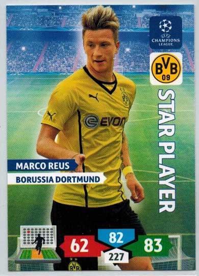 Star Player, 2013-14 Adrenalyn Champions League, Marco Reus