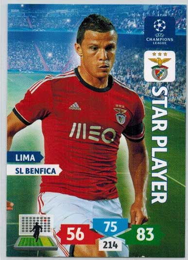 Star Player, 2013-14 Adrenalyn Champions League, Lima