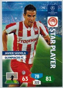 Star Player, 2013-14 Adrenalyn Champions League, Javier Saviola