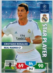 Star Player, 2013-14 Adrenalyn Champions League, Cristiano Ronaldo