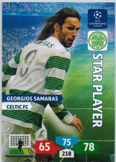 Star Player, 2013-14 Adrenalyn Champions League, Georgios Samaras