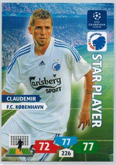 Star Player, 2013-14 Adrenalyn Champions League, Claudemir