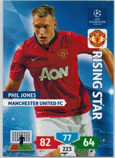 Rising Star, 2013-14 Adrenalyn Champions League, Phil Jones