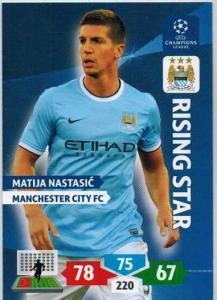 Rising Star, 2013-14 Adrenalyn Champions League, Matija Nastasic