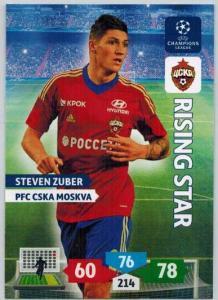 Rising Star, 2013-14 Adrenalyn Champions League, Steven Zuber