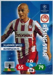Rising Star, 2013-14 Adrenalyn Champions League, Vladimir Weiss