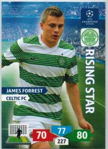 Rising Star, 2013-14 Adrenalyn Champions League, James Forrest